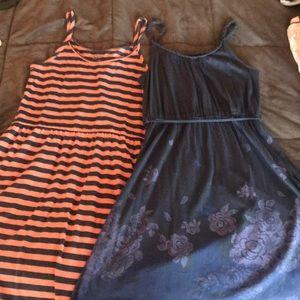 2 SO cotton dresses